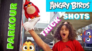 Getting Active with Angry Birds | Parkour & Trick Shots