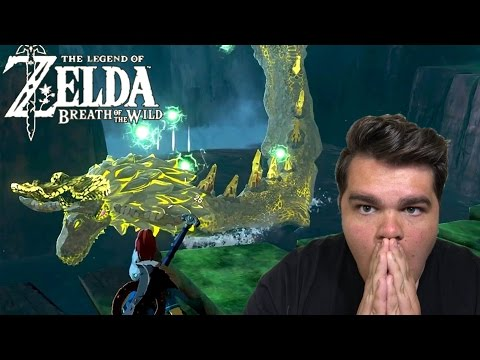 FIGHTING A DRAGON!?! | Legend of Zelda: Breath of the Wild Gameplay Highlights