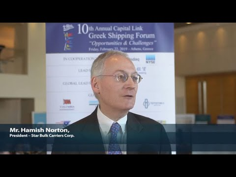 2019 10th Annual Greek Shipping Forum Interview-Hamish Norton