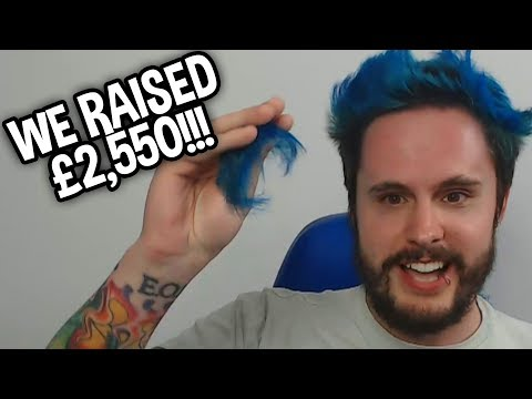 SHAVING MY HAIR OFF AFTER WE RAISED £2,550 FOR MACMILLAN CANCER SUPPORT