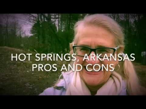 Hot Springs, Arkansas, Pros And Cons