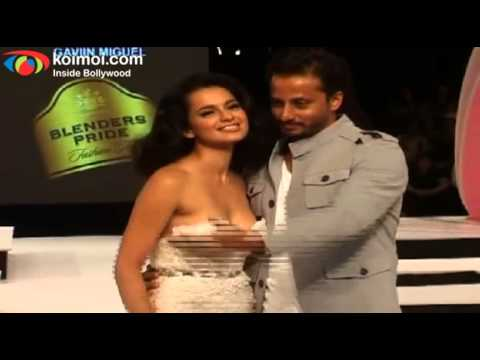 Thumbnail: Kangana Ranaut on Ramp - Blenders Pride Fashion Tour 2012 Day 1