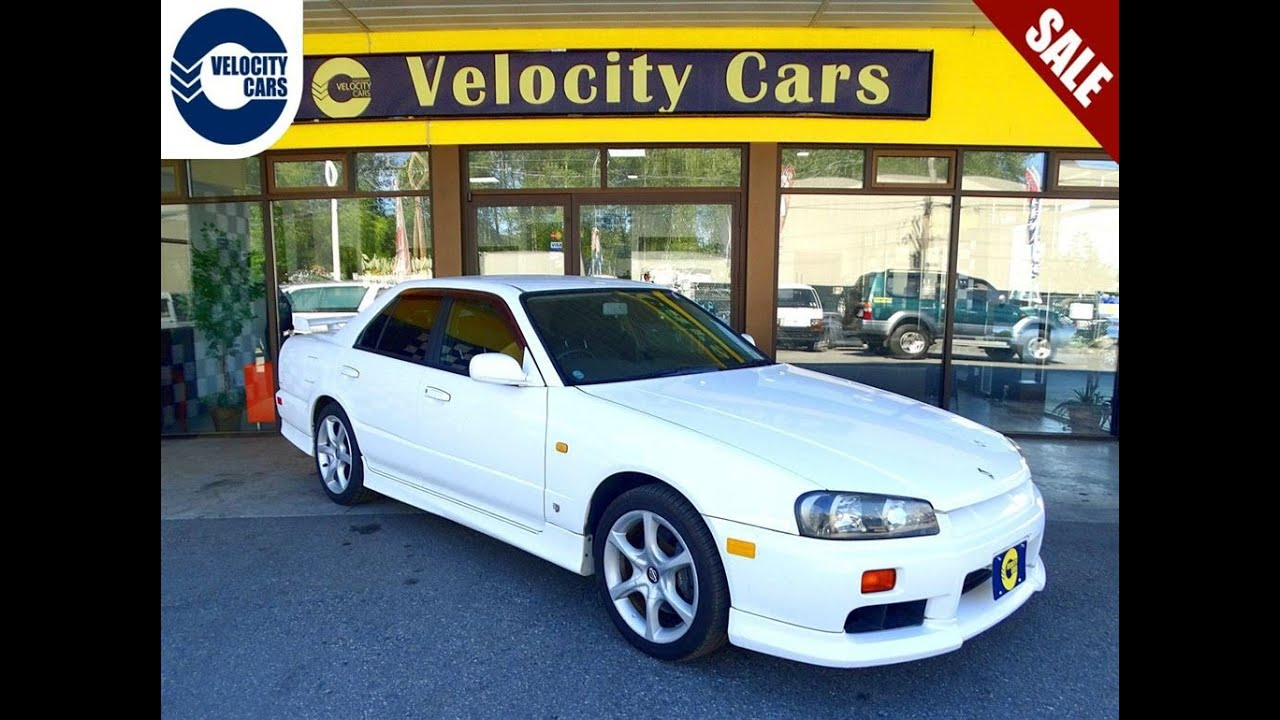 For Sale Nissan Skyline >> 1998 Nissan Skyline R34 25GT TURBO MANUAL 1YR WRNT for sale in Vancouver, BC Canada - YouTube