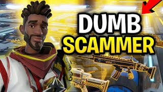 Dumb Scammer Loses Loads of Modded Guns! (Scammer Gets Scammed) Fortnite Save The World