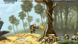 metal slug 1 mission 1 level 8 NO DEATH
