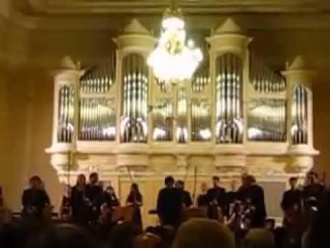 Chamber Orchestra Folkwang Sinfonietta in Saint-Petersburg State Conservatory