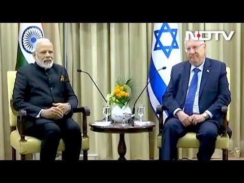 'I For I = India For Israel,' Says PM Modi