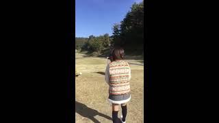 2016年11月13日に中仙道ゴルフ倶楽部で開催された「SKE48山内鈴蘭ちゃん...