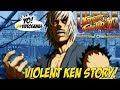 Ultra Street Fighter II! Violent Ken Arcade Story - YoVideogames