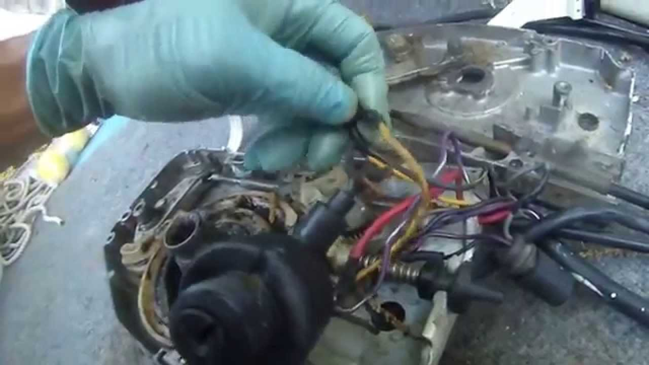 Johnson 90 hp v4 almost start troubleshoot 3 youtube for Outboard motor safety cable