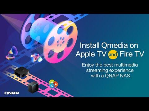 QNAP LIVE | Install Qmedia on Apple TV: Enjoy the best