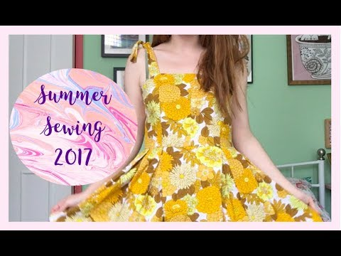 My Sewing: July and August 2017