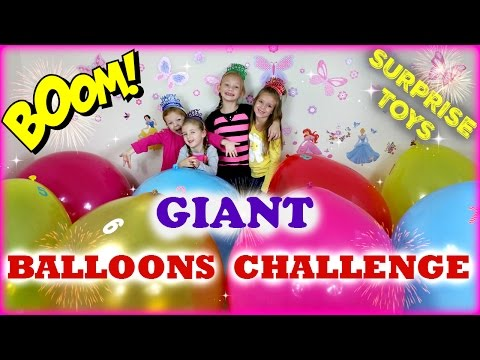 Giant Balloon Surprise Toys Challenge Pop Shopkins Season 4  My Little Pony  Care Bears and more