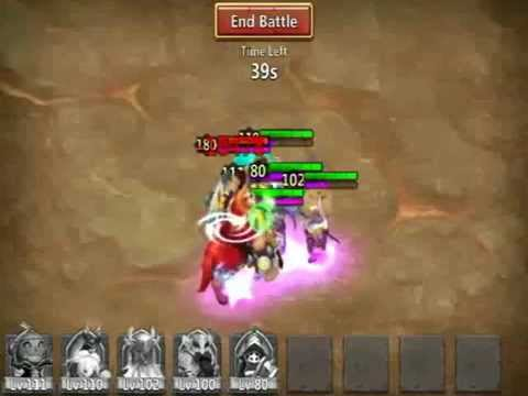 Castle Clash - Boss T3 Full 3 Minutes Perma Stun With Executioner