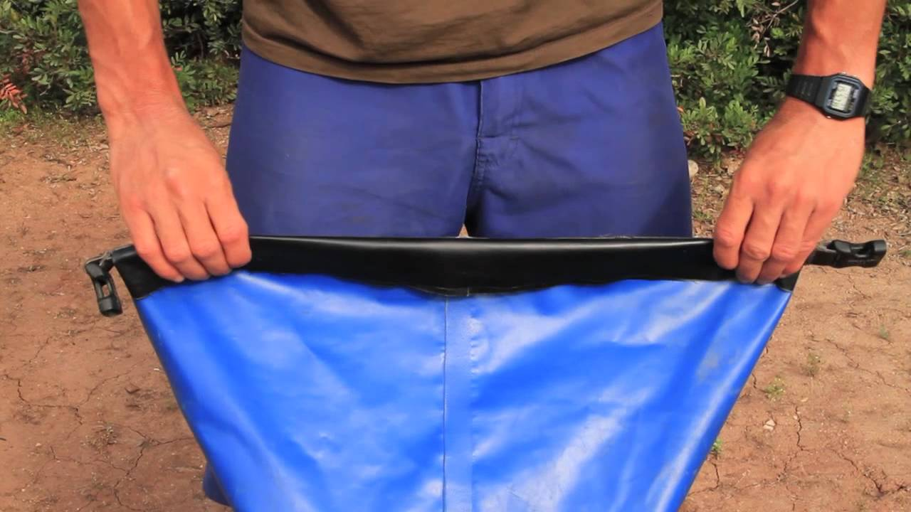 How to pack a dry bag