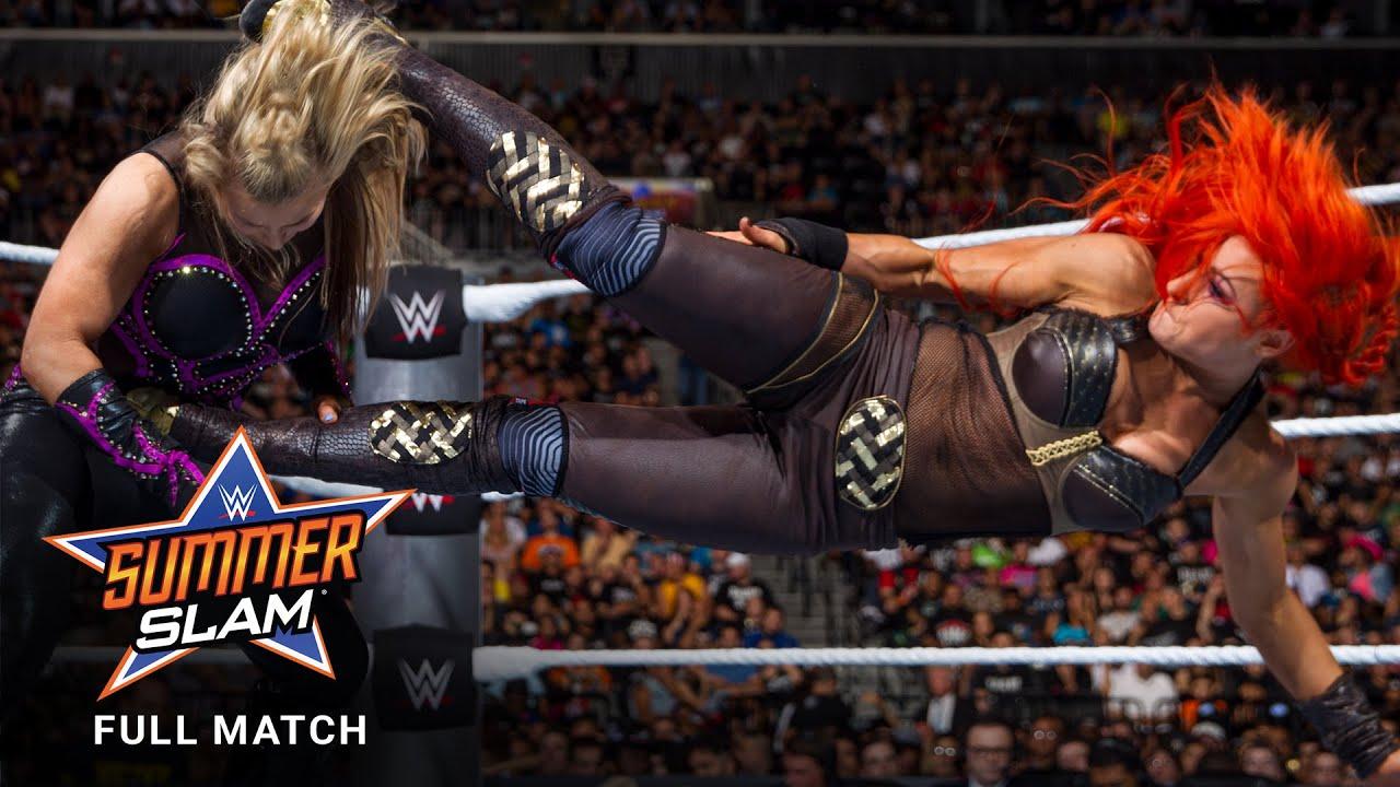 Download FULL MATCH - Six-Woman Tag Team Match: SummerSlam 2016