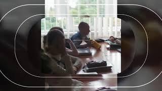 Мой класс на уроке Нимецкого))😂