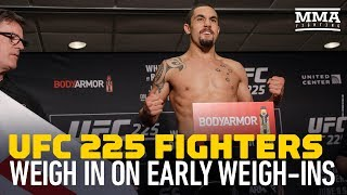 UFC 225 Fighters, Dana White Weigh In on Weigh-ins - MMA Fighting