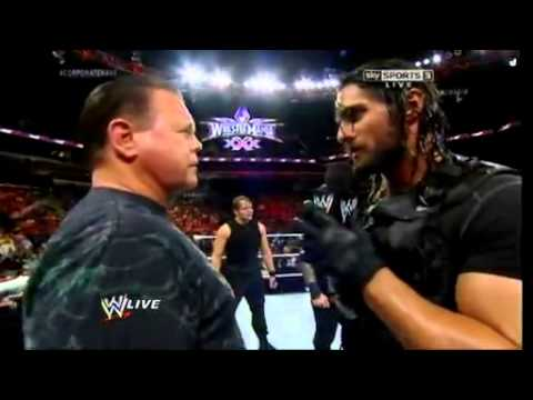 WWE Raw 17 March 2014 The shield Turns Face(Good)