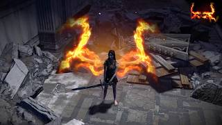 Path of Exile: Fire Wings