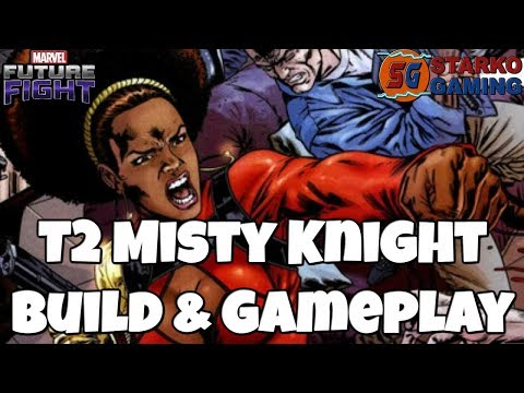T2 Misty Knight Build & Gameplay   Marvel Future Fight