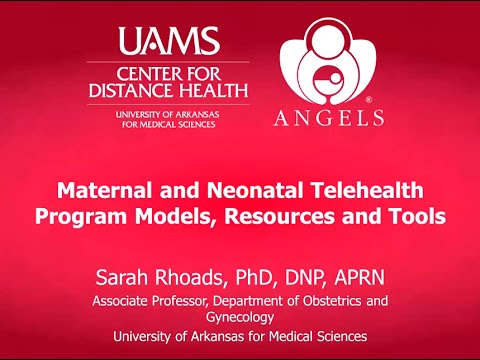 Maternal and Neonatal Telehealth Program Models, Resources, and Tools