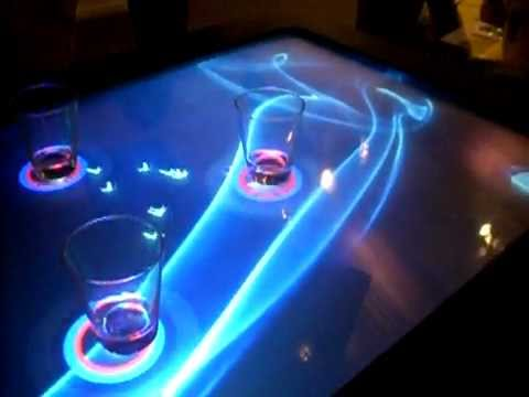 LBar | Interactive Multi-User Surface Bar Table