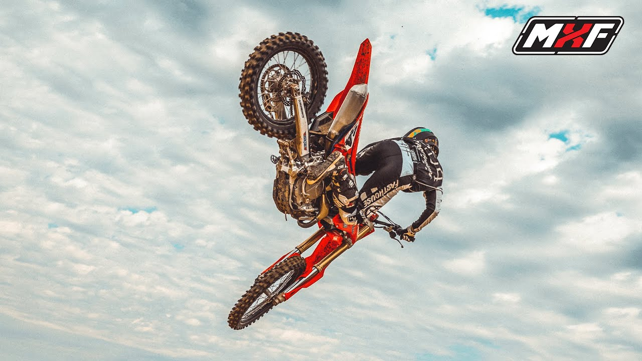 How to NOT CRASH on a new motocross jump   Jumping Tips