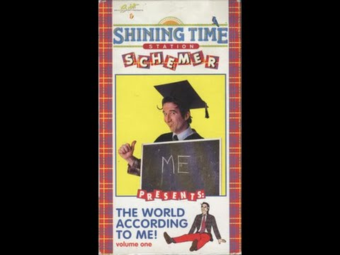 Opening To Shining Time Station:Schemer Presents The World According to Me! 1994 VHS