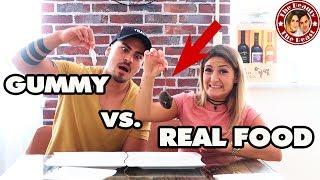 GUMMY VS. REAL FOOD | TBATB