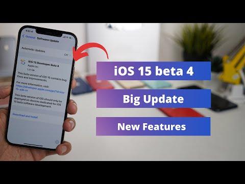 Download iOS 15 beta 4 | Big Update & New Features | Should you Update?