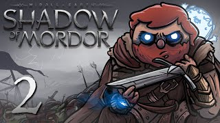 Shadow of Mordor Gameplay Part 2: - Black blood on the Black Gates (PC)