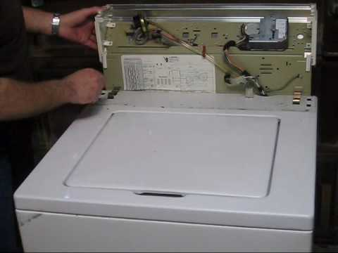 whirlpool washer repair video 1 youtube rh youtube com Whirlpool Estate Washer Repair estate whirlpool washing machine manual