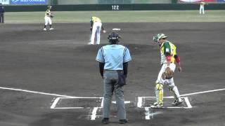 20130414 OG vs FD (レクザム球場) 1回表