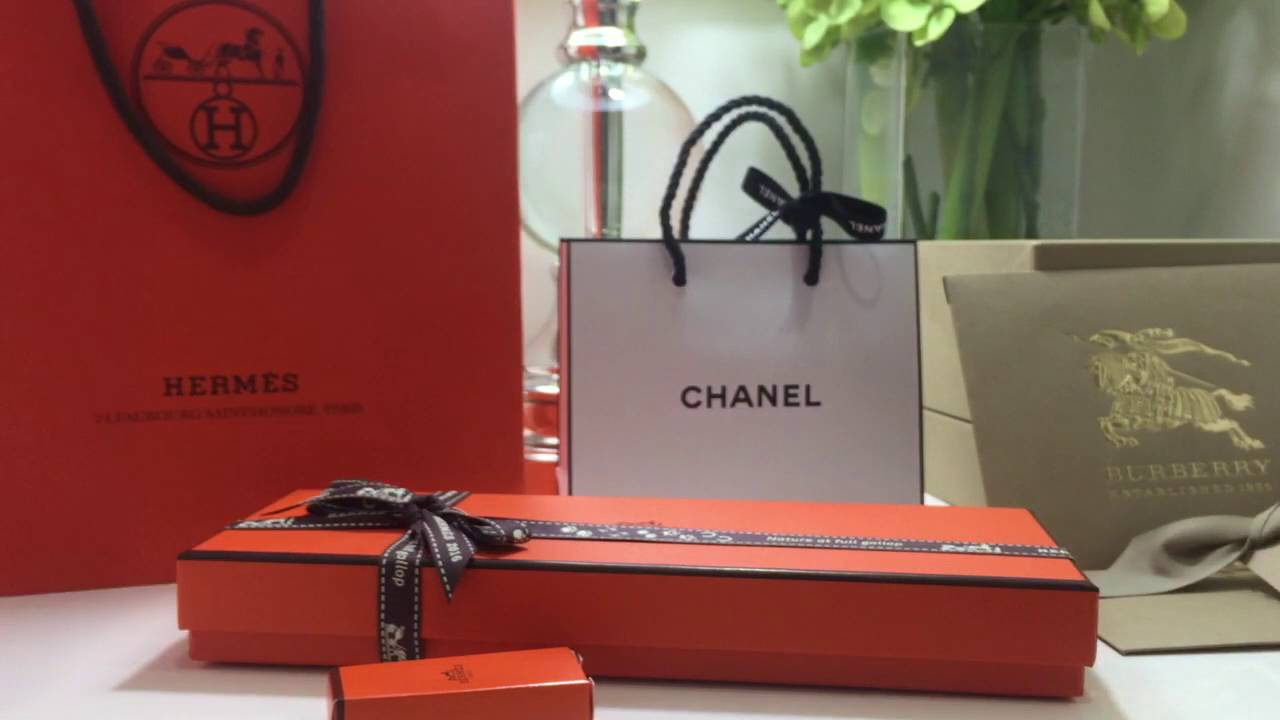 Hermes, Chanel & Burberry | Luxury Brand Gift Ideas Under $100 ...