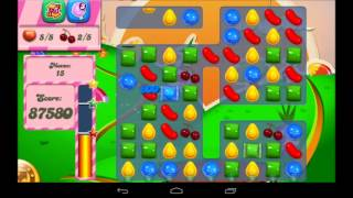 Candy Crush Saga Level 74 Walkthrough