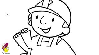 Bob the builder   Drawing   How to draw Bob