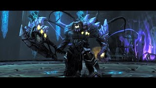 Darksiders 2 final boss Death vs Absalom in HD PC gameplay max setting