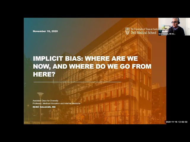 Implicit Bias: Where are We Now and Where Do We Go From Here?