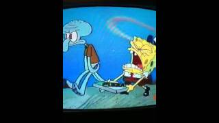 Spongebob singing krusty krab pizza!