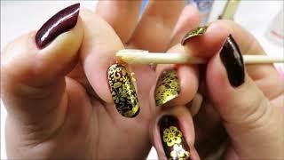 🌸стемпинг лайфхаки часть 1 🌸маникюр🌸 Али Экспресс🌸 Nail art