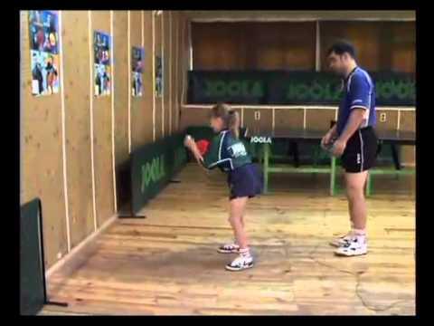Тренировка точности игры! Уроки настольного тенниса!