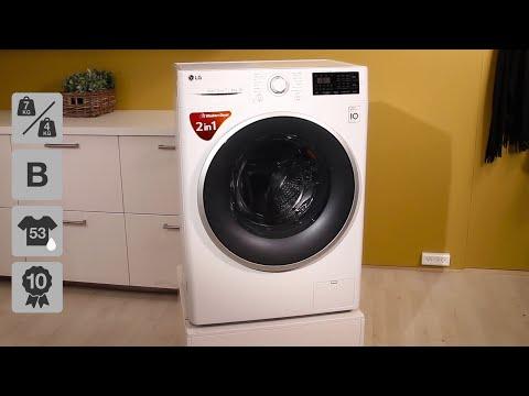LG FH2U2HDM1N Vaske-/tørremaskine
