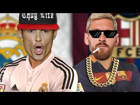 CRISTIANO RONALDO VS. MESSI RAP BATTLE   Footy Rap Battle