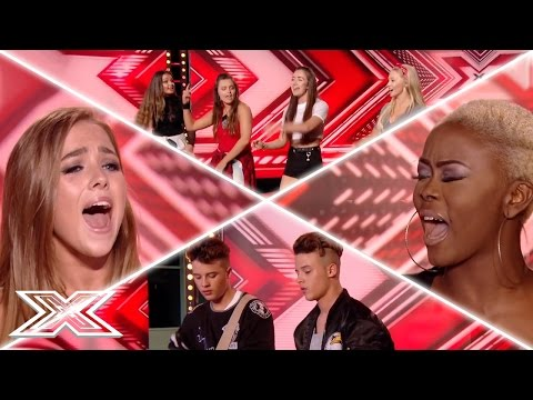 X Factor UK Auditions Week 3  Gifty Louise, The Brooks, Olivia Garcia & MORE!