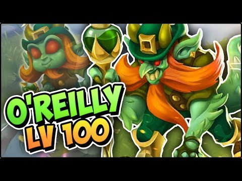 O'REILLY (LV 100) COMBATES PVP - Monster Legends Review