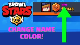 How to Change Name Color in Brawl Stars