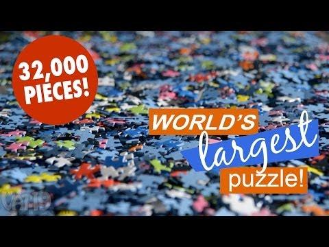 World's Largest Jigsaw Puzzle