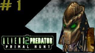 Aliens versus Predator 2: Primal Hunt - Predator Campaign #1 - Mission 1: Legend 1/2
