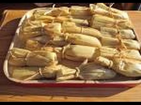 How to make Tamales/Vegan and oil free